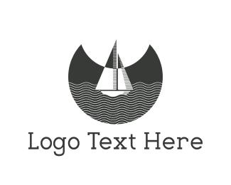 Moonlight - Night Boat logo design