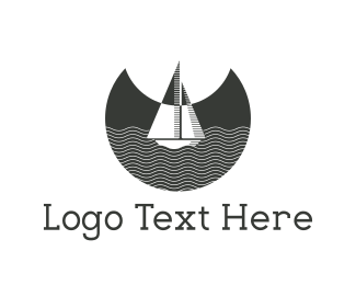 Travel - Night Boat logo design