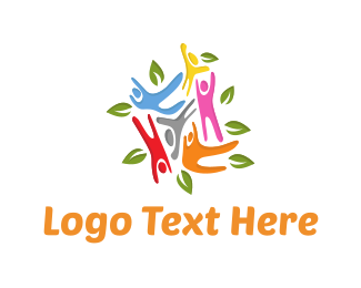 Community Center - Colorful Community logo design