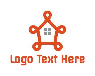 Fancy - Fancy Orange House logo design