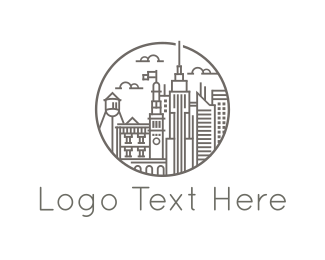Office - City Buildings logo design