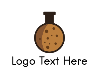 Test Tube - Biscuit Laboratory logo design