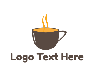 Soup - Hot Cup logo design