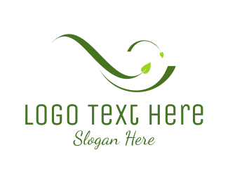 Vine - Green Leaves logo design