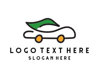 Car Wash - Eco Car logo design