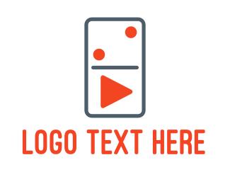 Bet - Domino Player logo design