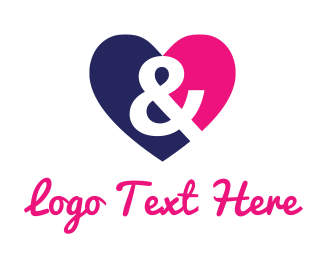 Love -  Love & Heart logo design
