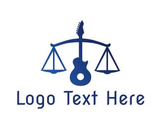 Band - Legal Guitar logo design