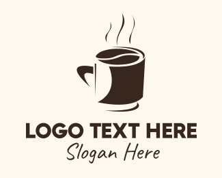 Coffee Mugs - Coffee Bean Cup logo design