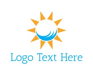 Sunny - Sunny Beach logo design