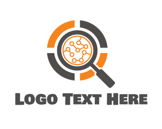Search - Search Magnifying Glass logo design
