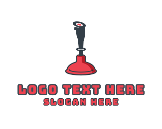 Gaming - Plunger Games logo design