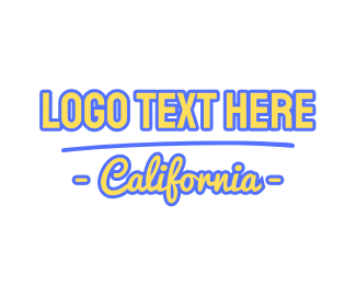 """California Font"" by BrandCrowd"