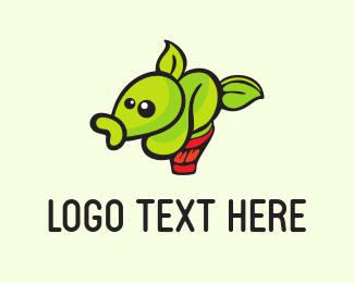 Plant - Strange Plant logo design