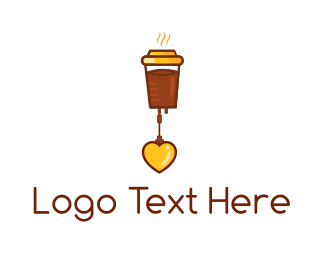 Love - Coffee Love logo design