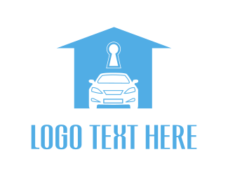 Workshop - Car & House logo design