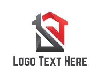 Mortgage - Abstract Home logo design