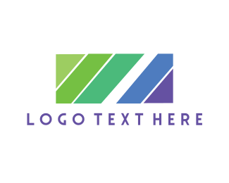 Shape - Diagonal Lines logo design