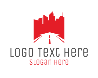 Town - Red City logo design