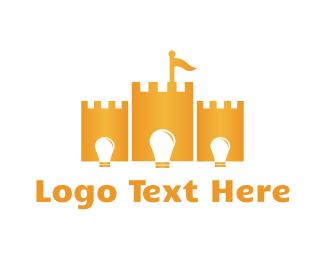 Kingdom - Bright Castle logo design
