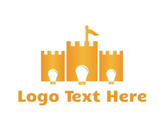 Bright - Bright Castle logo design