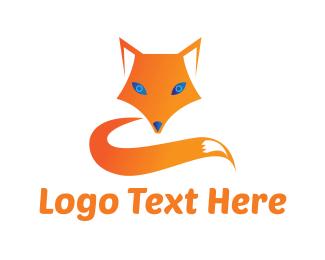 Children - Blue Eyed Fox logo design