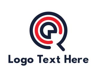 App - Music Letter Q App logo design