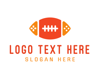 Football - Football Gaming logo design