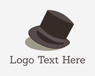Horse - Tip Top Hat logo design