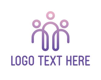 Crowdsourcing - Abstract Business Team logo design