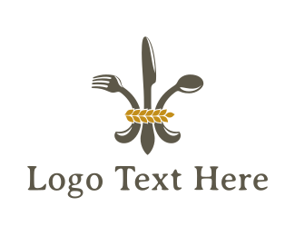 Spoon - Regal Food logo design