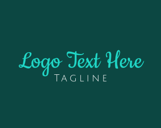 Wordmark - Modern Handwritten Font logo design