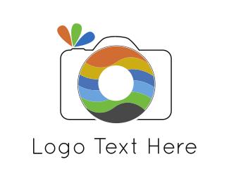 Camera Rainbow Logo