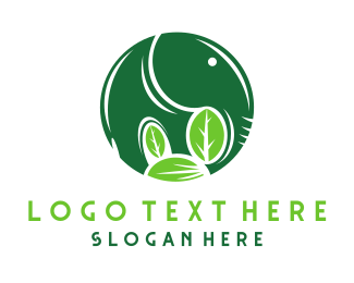 Sustainability - Green Elephant logo design