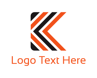 Abstract Letter K Logo