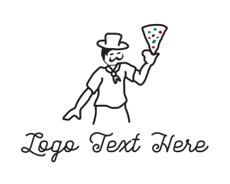 Restaurant - Pizza Chef logo design
