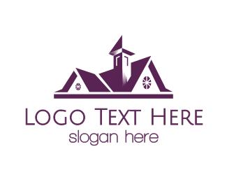 Homestead - Vintage House logo design