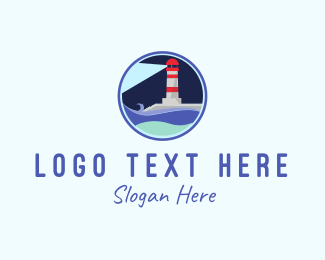 Lighthouse - Lighthouse Circle logo design