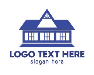 Dark Blue - Old Blue House logo design