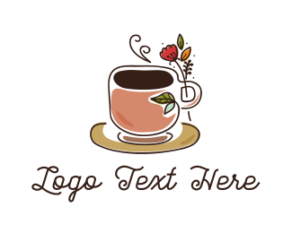 Tea - Herbal Coffee logo design