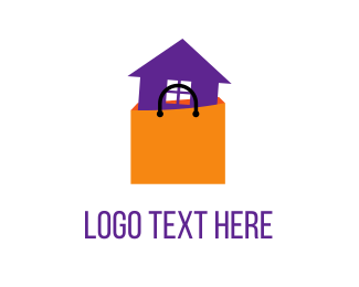 Shop - Shopping House logo design