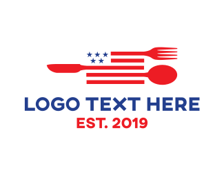 American - American Diner logo design