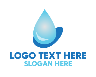 Cleaner - Water Drop logo design