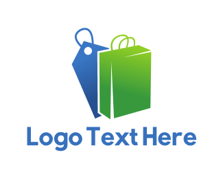 Sale - Bag & Tag logo design