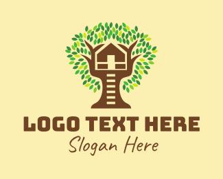 Day Care - Tree House  logo design