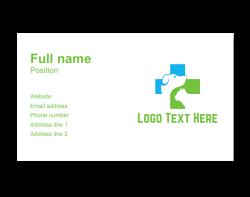 animal business card