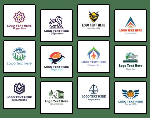 logo design collage