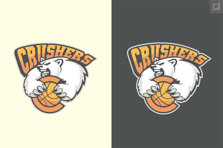 Bear Logo Design by R.R
