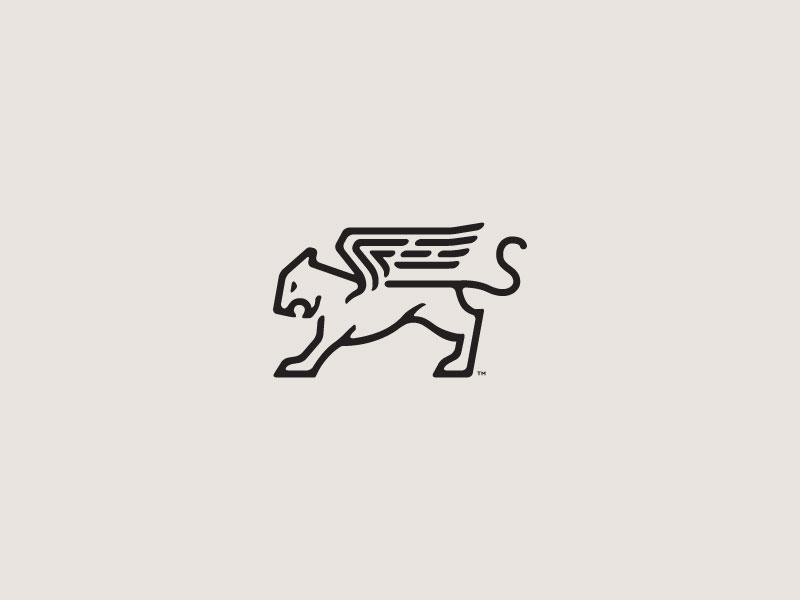 Wings Logo Design by James Engerbretson