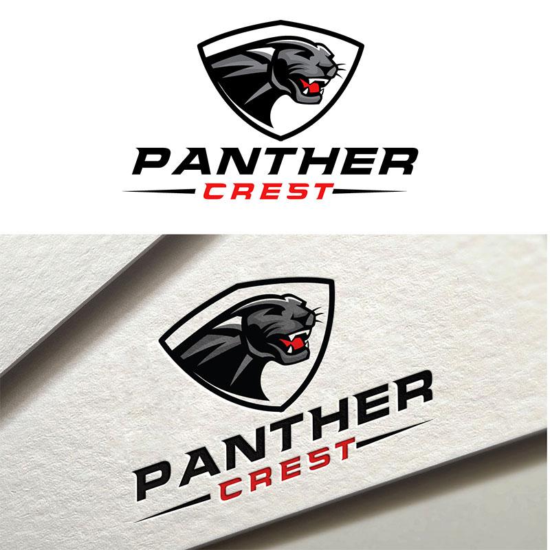 Crest Logo Design by Fourtunedesign